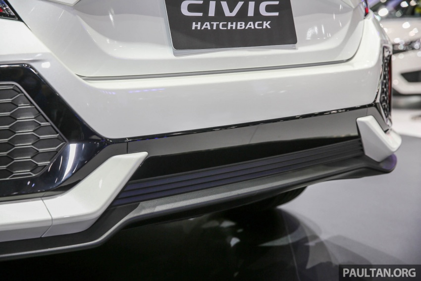 Bangkok 2017: Honda Civic Hatchback 1.5L Turbo Image #635626