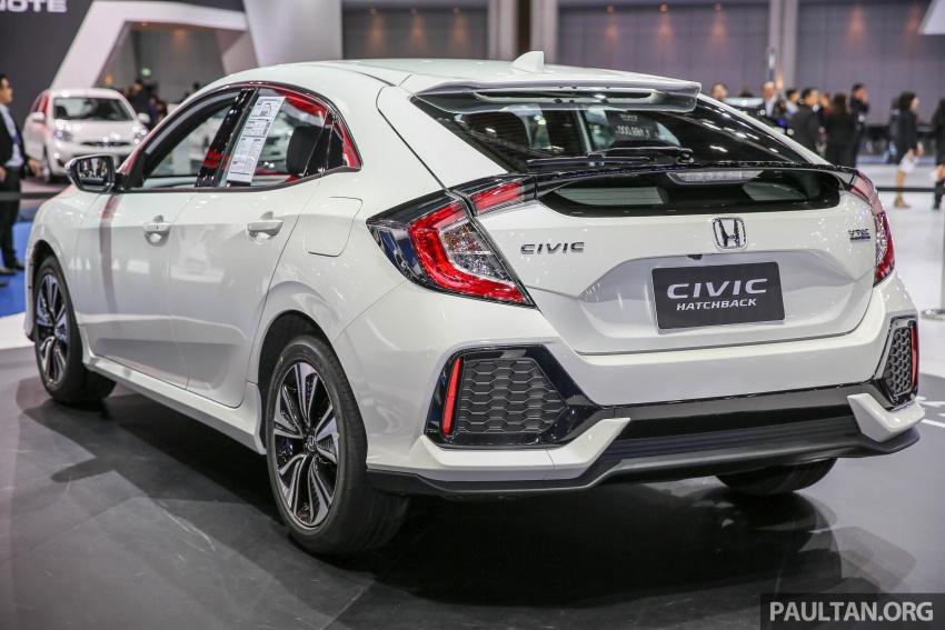 Bangkok 2017: Honda Civic Hatchback 1.5L Turbo Image #635375