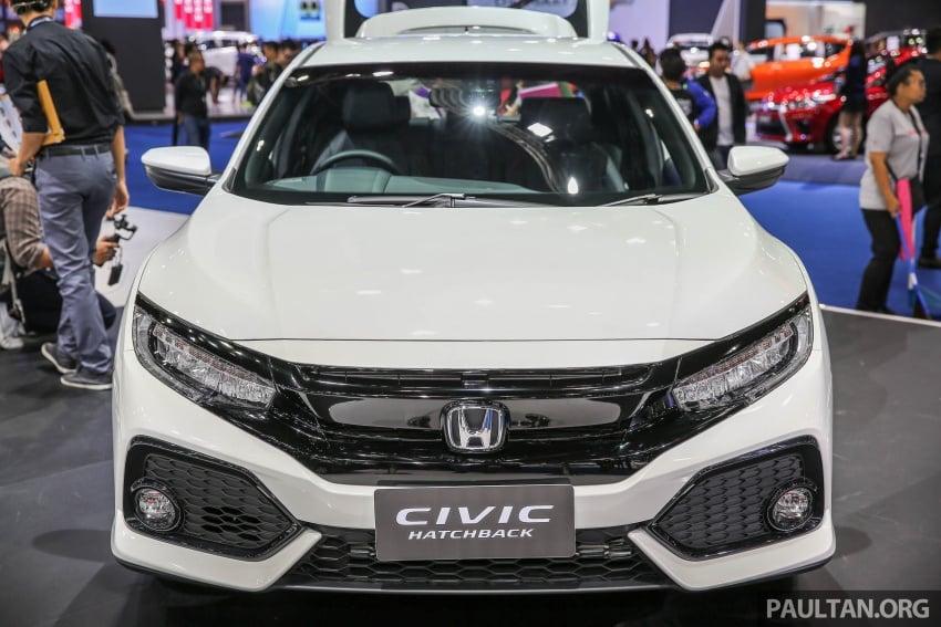Bangkok 2017: Honda Civic Hatchback 1.5L Turbo Image #635377
