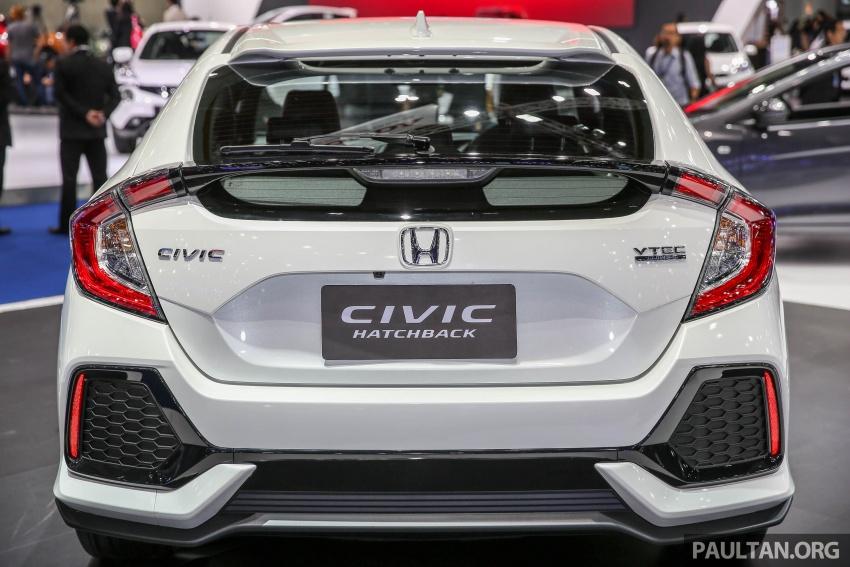 Bangkok 2017: Honda Civic Hatchback 1.5L Turbo Image #635378