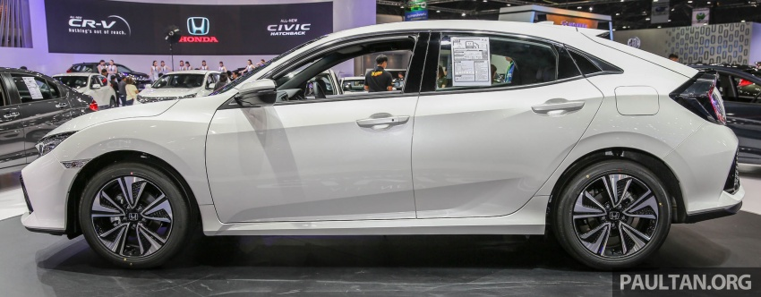 Bangkok 2017: Honda Civic Hatchback 1.5L Turbo Image #635379