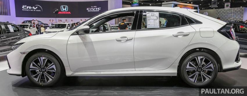 Bangkok 2017: Honda Civic Hatchback 1.5L Turbo Image #635616