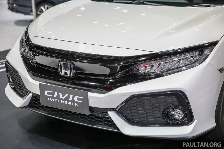 Bangkok 2017: Honda Civic Hatchback 1.5L Turbo Image #635380