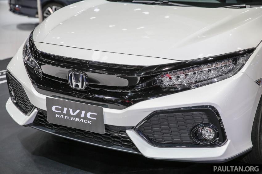 Bangkok 2017: Honda Civic Hatchback 1.5L Turbo Image #635617