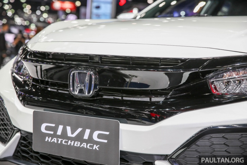 Bangkok 2017: Honda Civic Hatchback 1.5L Turbo Image #635383