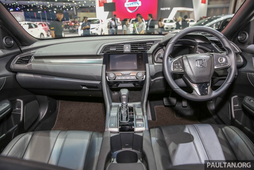 Bangkok 2017: Honda Civic Hatchback 1.5L Turbo Image #635401
