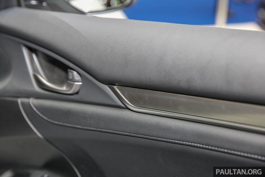 Bangkok 2017: Honda Civic Hatchback 1.5L Turbo Image #635451