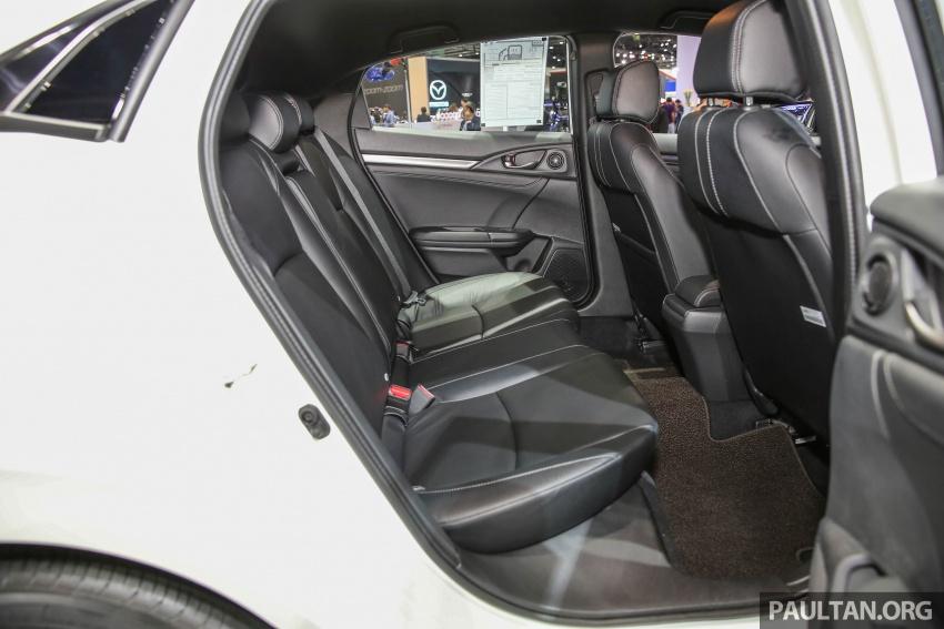 Bangkok 2017: Honda Civic Hatchback 1.5L Turbo Image #635464