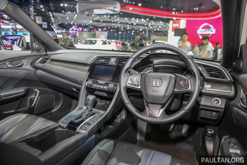 Bangkok 2017: Honda Civic Hatchback 1.5L Turbo Image #635408