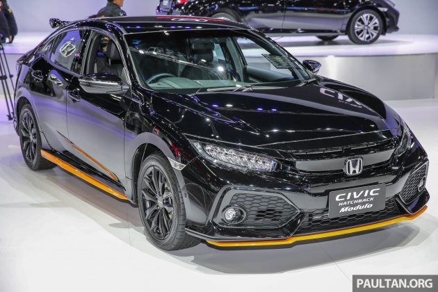 Honda city modulo 2018 black