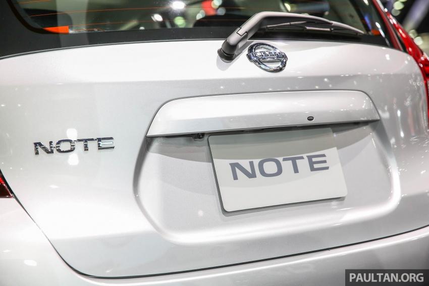 Bangkok 2017: Nissan Note, Thailand's latest eco car Image #635957