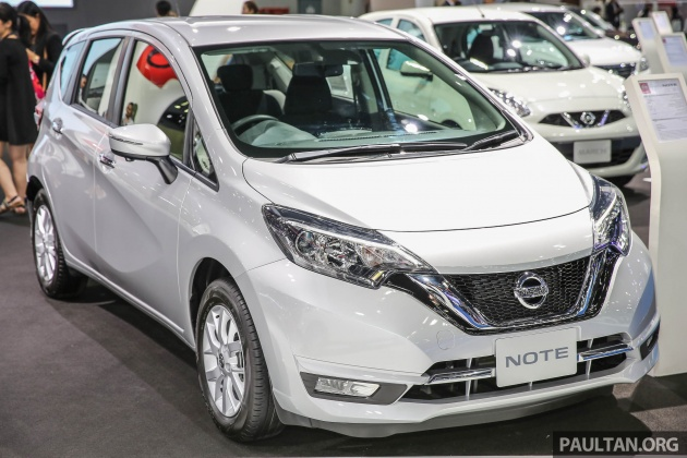 bangkok 2017 nissan note kereta eco terkini thai. Black Bedroom Furniture Sets. Home Design Ideas