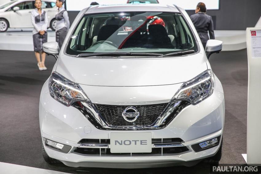 Bangkok 2017: Nissan Note, Thailand's latest eco car Image #635941