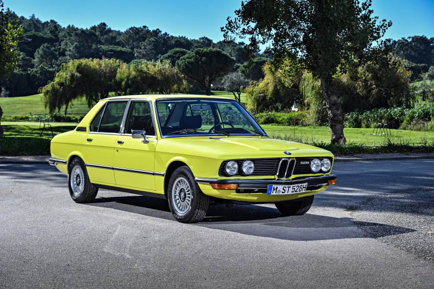 BMW 5 Series – a look back through the generations Image #636039