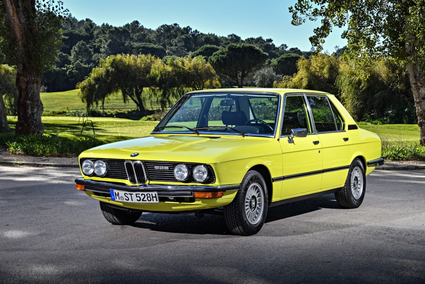 BMW 5 Series – a look back through the generations Image #636040