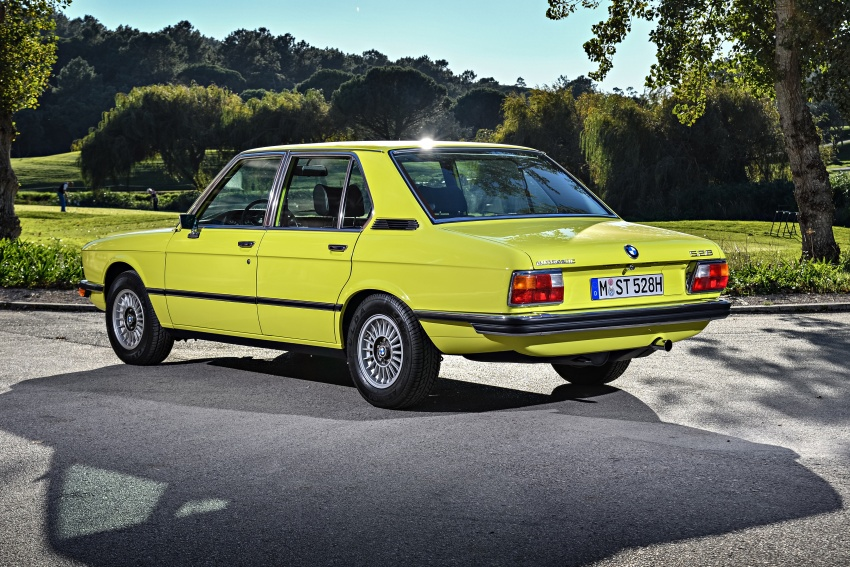 BMW 5 Series – a look back through the generations Image #636045
