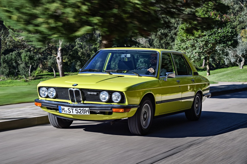 BMW 5 Series – a look back through the generations Image #636062