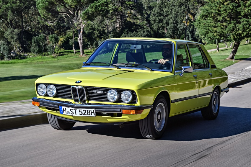 BMW 5 Series – a look back through the generations Image #636063