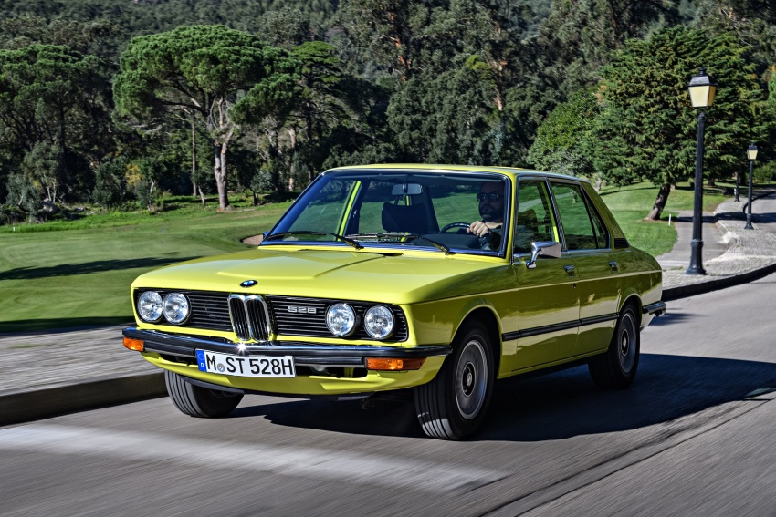 BMW 5 Series – a look back through the generations Image #636064