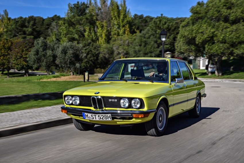 BMW 5 Series – a look back through the generations Image #636065