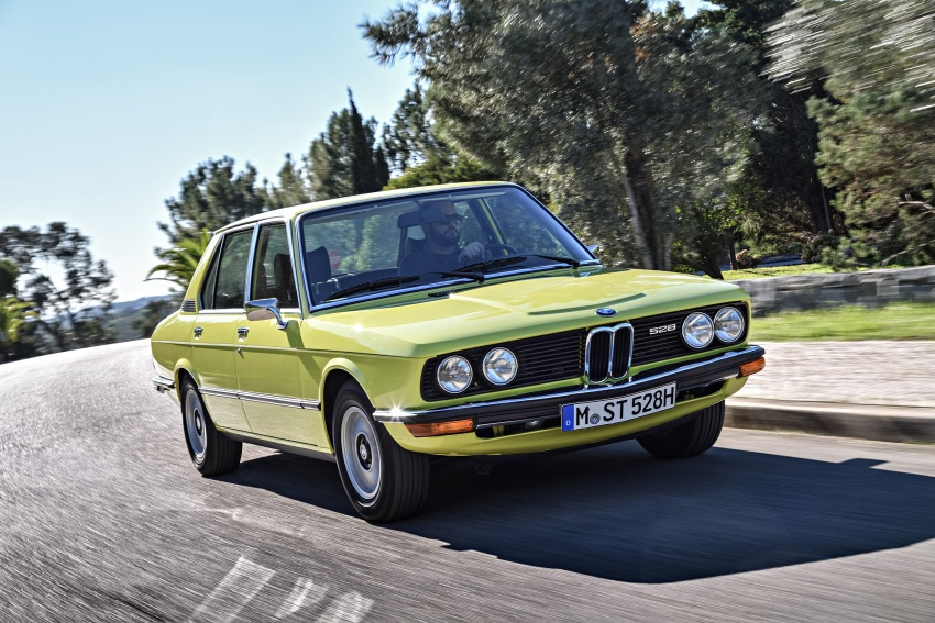 BMW 5 Series – a look back through the generations Image #636066