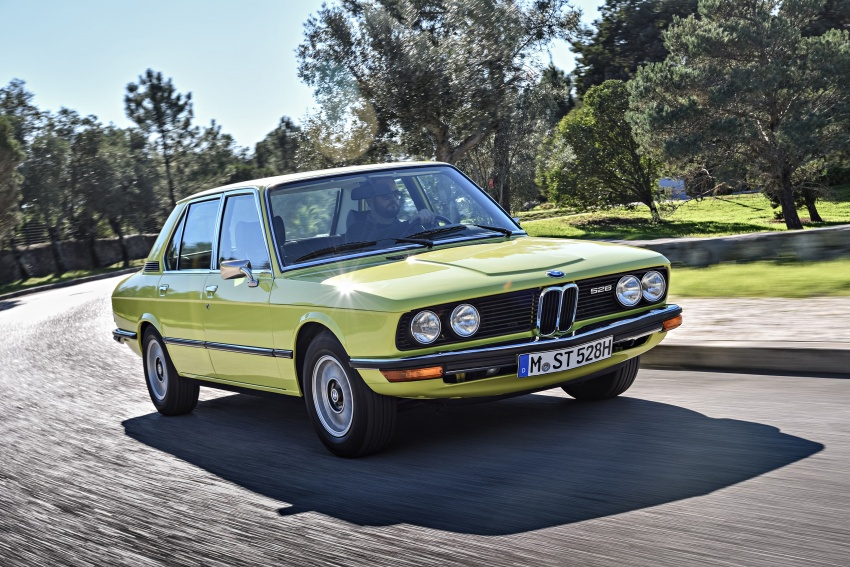 BMW 5 Series – a look back through the generations Image #636067