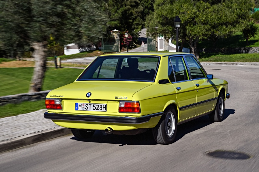 BMW 5 Series – a look back through the generations Image #636068