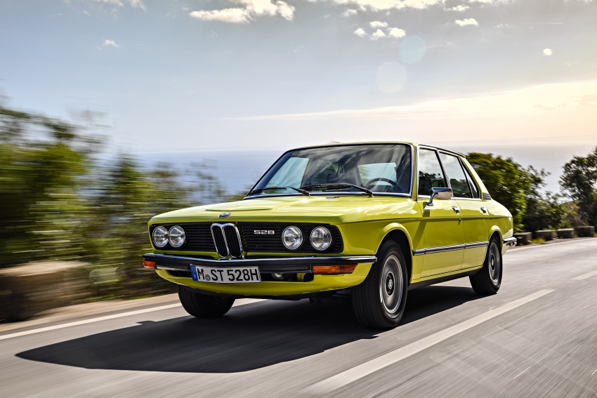 BMW 5 Series – a look back through the generations Image #636072