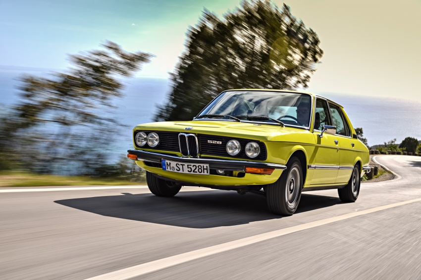 BMW 5 Series – a look back through the generations Image #636073