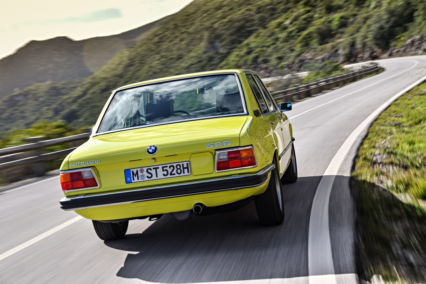 BMW 5 Series – a look back through the generations Image #636074