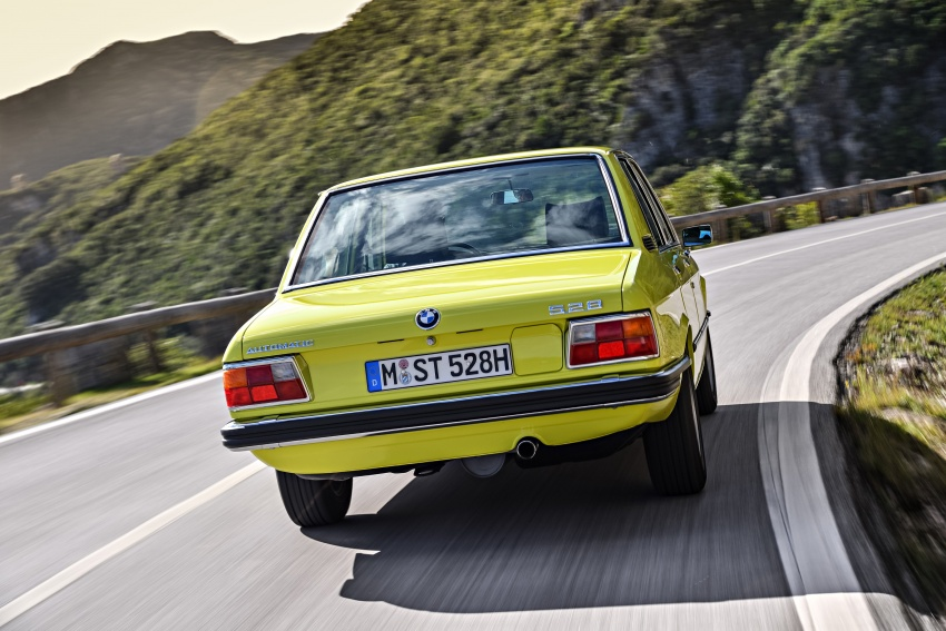 BMW 5 Series – a look back through the generations Image #636075