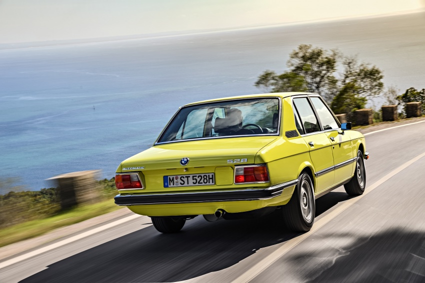 BMW 5 Series – a look back through the generations Image #636076
