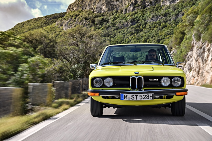 BMW 5 Series – a look back through the generations Image #636078