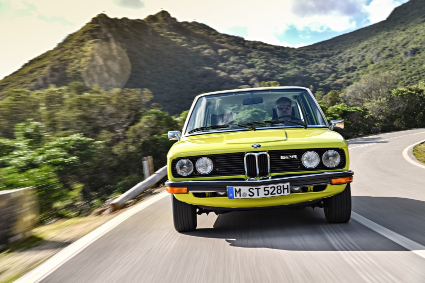 BMW 5 Series – a look back through the generations Image #636079