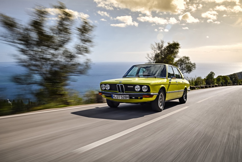 BMW 5 Series – a look back through the generations Image #636080
