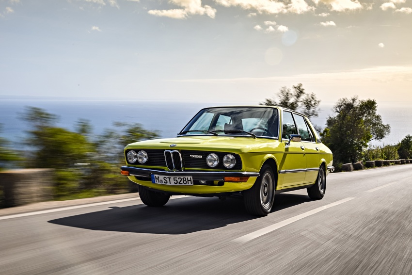 BMW 5 Series – a look back through the generations Image #636081