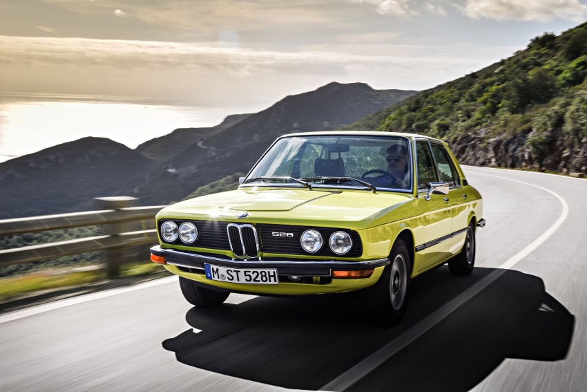 BMW 5 Series – a look back through the generations Image #636082