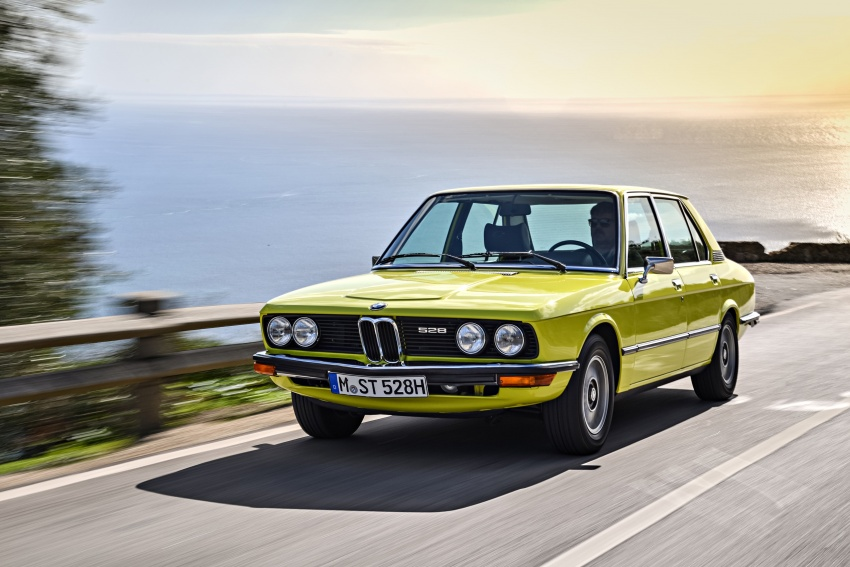 BMW 5 Series – a look back through the generations Image #636083