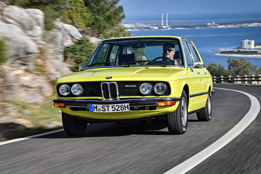 BMW 5 Series – a look back through the generations Image #636084
