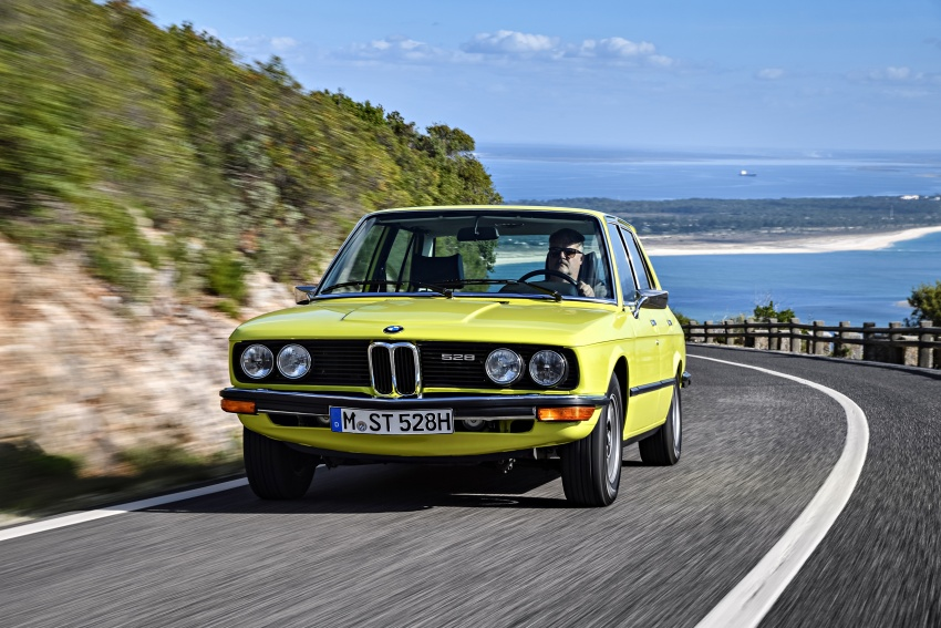 BMW 5 Series – a look back through the generations Image #636085