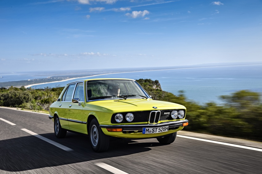 BMW 5 Series – a look back through the generations Image #636086
