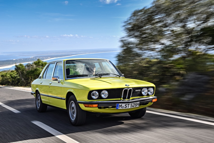 BMW 5 Series – a look back through the generations Image #636087