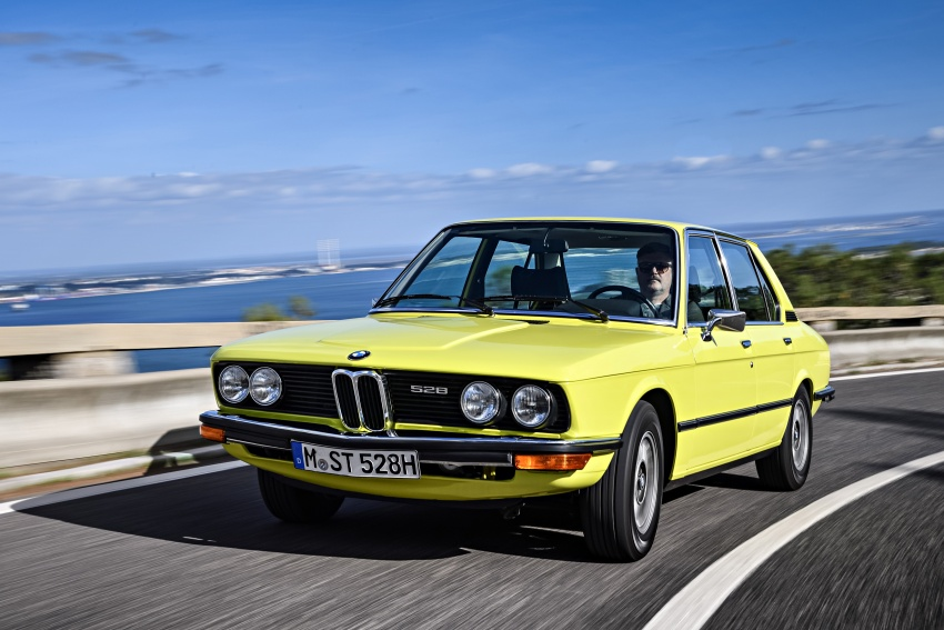 BMW 5 Series – a look back through the generations Image #636089