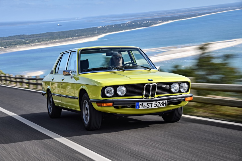 BMW 5 Series – a look back through the generations Image #636090