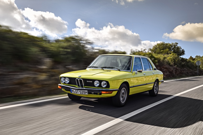 BMW 5 Series – a look back through the generations Image #636091