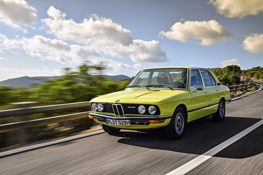 BMW 5 Series – a look back through the generations Image #636092