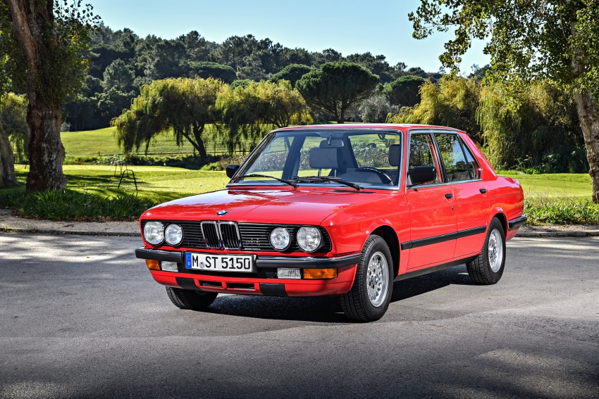 BMW 5 Series – a look back through the generations Image #636103