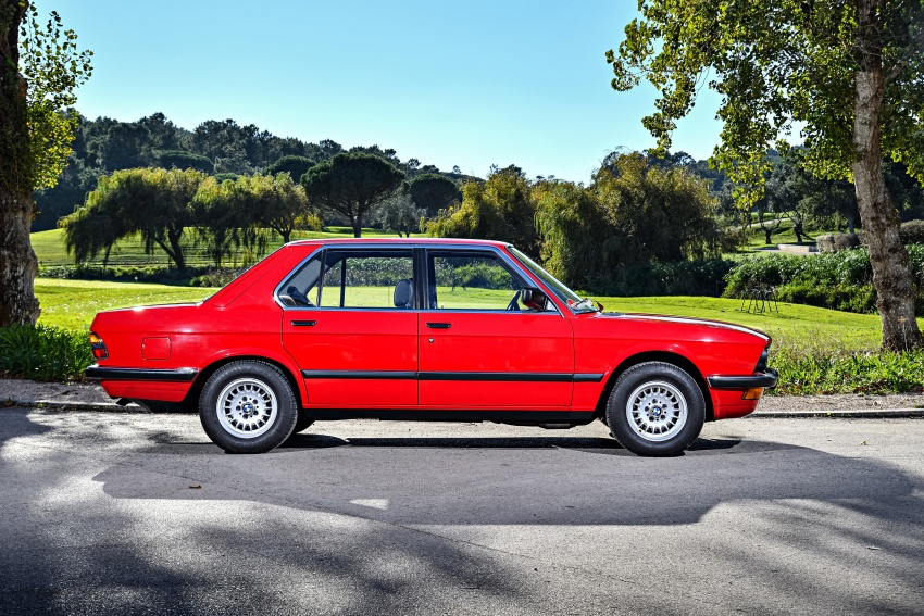 BMW 5 Series – a look back through the generations Image #636107