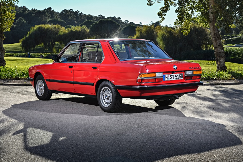 BMW 5 Series – a look back through the generations Image #636109