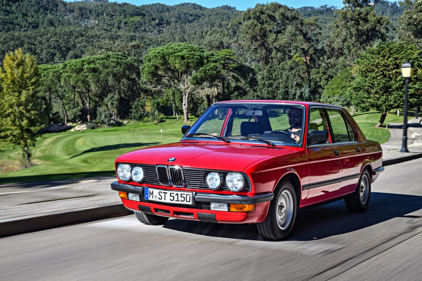 BMW 5 Series – a look back through the generations Image #636125